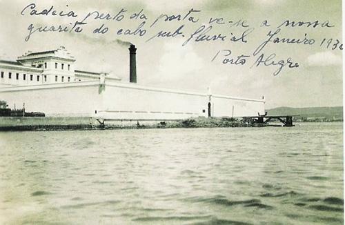 """Casa de Correção (entenda-se """"presídio"""") em 1930"""