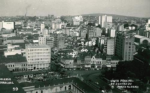 Centro de Porto Alegre 1954