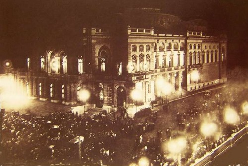 Inauguração do Theatro Municipal em 1911