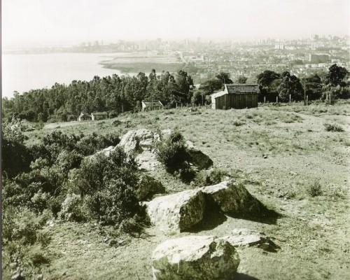 Morro Santa Tereza em abril de 1961