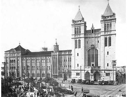 Mosteiro de São Bento - 1920