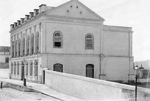Prédio construído em 1772 - Porto Alegre