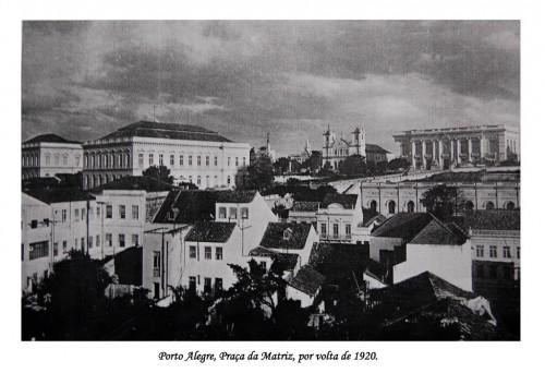 Praça da Matriz - 1920