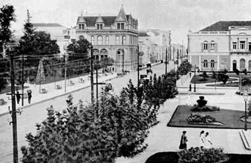 Rua 7 de setembro 1920