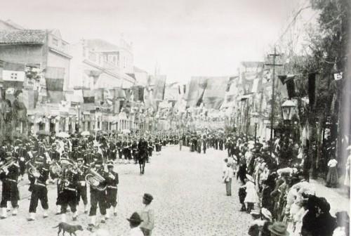 Rua dos Andradas (rua da Praia) - 1911