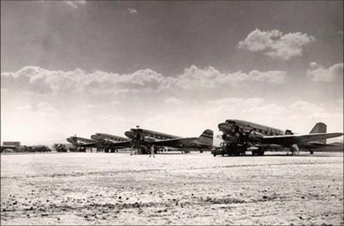 VASP E PAN-AIR EM CONGONHAS - 1950