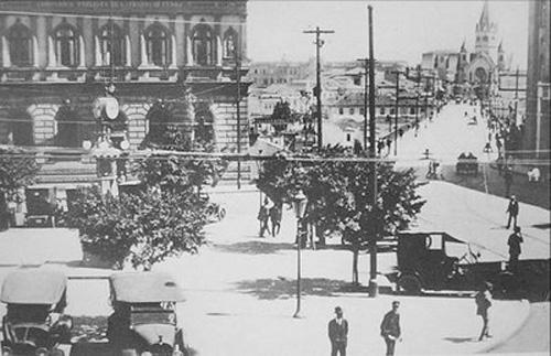 VIADUTO STA IFIGÊNIA - 1920