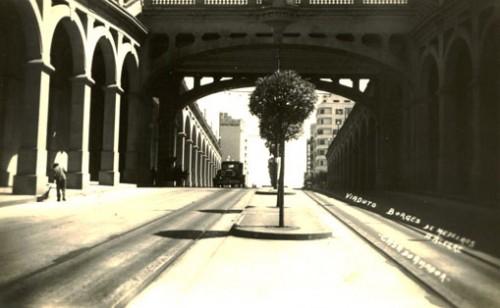 Viaduto Otavio Rocha - 1944