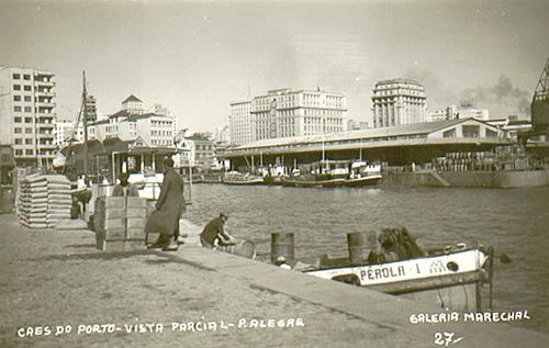 Cais do porto 1950