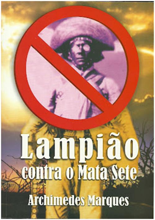 Capa do Livro Lampião Contra o Mata Sete