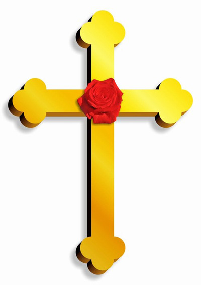 Um dos emblemas associados à Ordem Rosa-Cruz