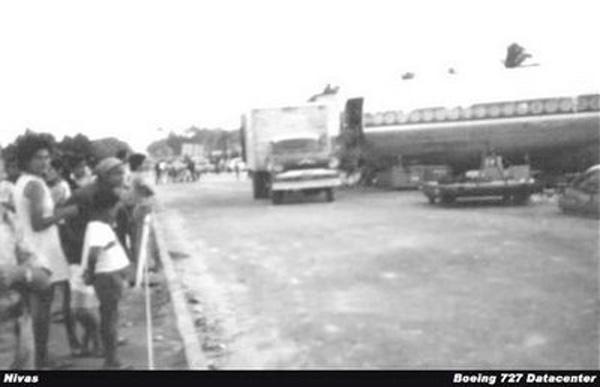 Acidente aéreo no aeroporto internacional dos Guararapes em 1974