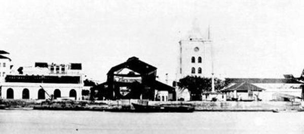 Arsenal da Marinha em 1865