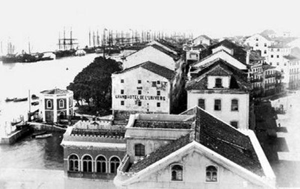 Arsenal da Marinha em 1870