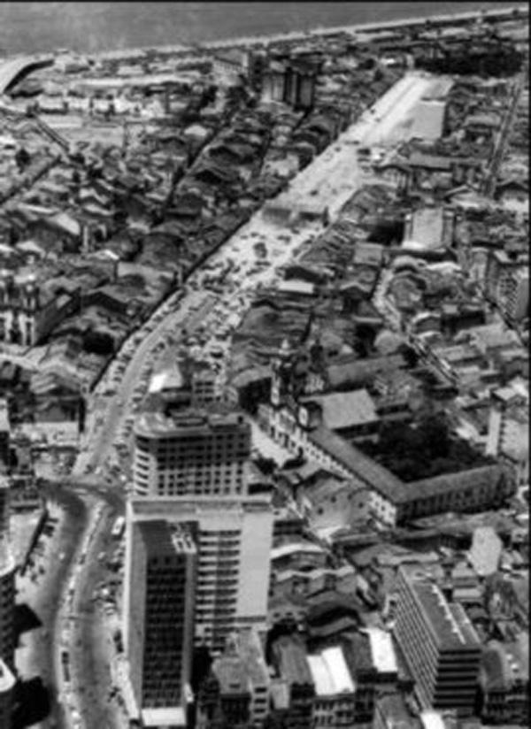Avenida Dantas Barreto em 1960