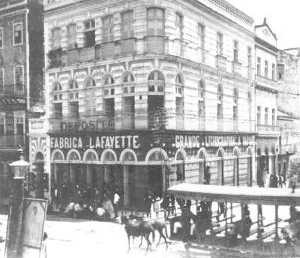 Fábrica de cigarros Lafayette (Rua do Imperador, fins do século XIX)
