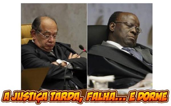 Justiça-dormindo